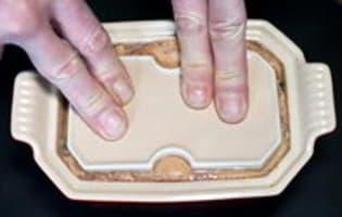 Terrine de foie gras à l'anguille fumée - Etape 7