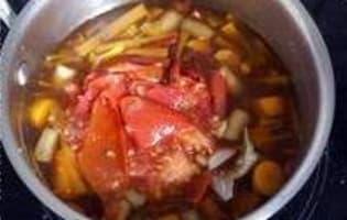 Monder une tomate - Etape 9