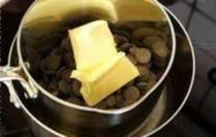 Fondant au chocolat - Etape 2