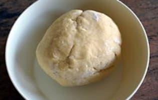 Tarte poireaux mimolette - Etape 1