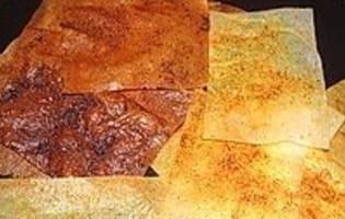 Croustillant de haddock à la fondue de poireaux  - Etape 4