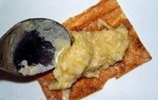 Croustillant de haddock à la fondue de poireaux  - Etape 7