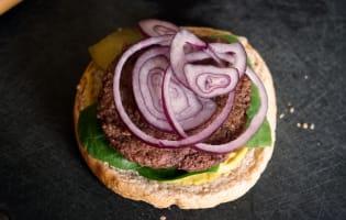 Hamburgers  - Etape 9