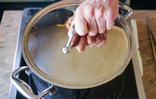 Crème de potiron marinière - Etape 5