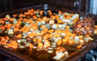 Dinde farcie aux marrons - Etape 17