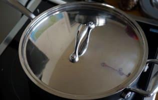 Fondue de poireaux - Etape 7