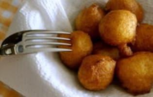 Pommes dauphines au potiron - Etape 12