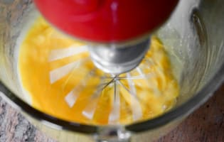 Bûche de noël glacée à la mandarine - Etape 3