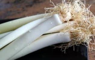 Poireaux vinaigrette - Etape 2
