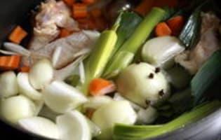 Waterzoï de poulet  - Etape 3
