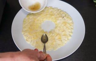 Carpaccio d'ananas exotique - Etape 7