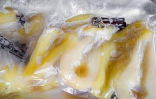 Poires cuites sous vide - Etape 6