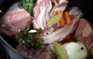 Blanquette de veau - Etape 3