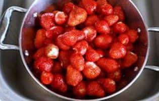 Confiture de fraises - Etape 4