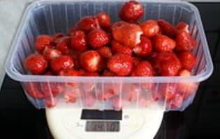 Confiture de fraises - Etape 5