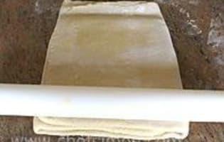 Pâte feuilletée à 6 tours - Etape 18