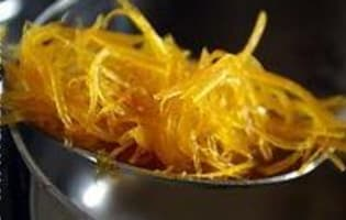 Sorbet pamplemousse orange - Etape 12