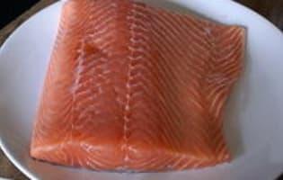 Gravlax de saumon - Etape 2