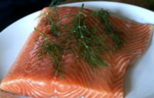 Gravlax de saumon - Etape 5