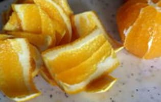Ecorces d'oranges confites - Etape 4