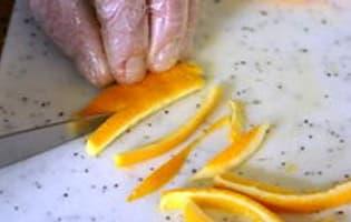 Ecorces d'oranges confites  - Etape 5