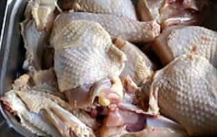 Poulet basquaise  - Etape 1