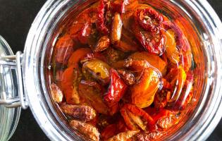 Tomates séchées - Etape 4