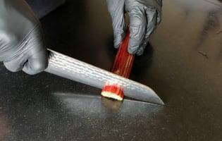 Compote de rhubarbe  - Etape 2