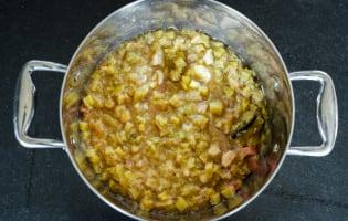 Compote de rhubarbe  - Etape 8