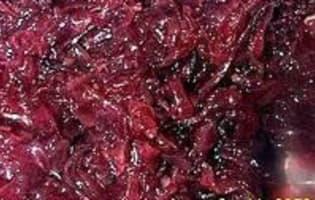 Compote d'oignons rouges - Etape 11