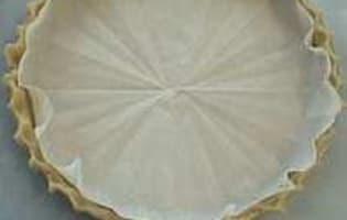 Cuire à blanc un fond de tarte - Etape 3