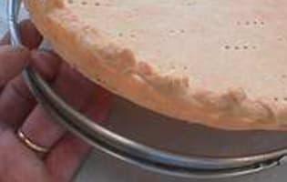 Cuire à blanc un fond de tarte - Etape 5