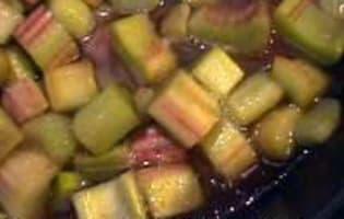 Compote de rhubarbe - Etape 7