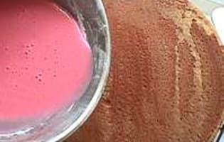 Glaçage au sucre glace  - Etape 4