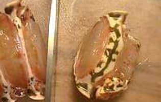 Médaillons de langouste sautés au beurre moussant  - Etape 4