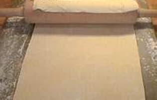 Millefeuille - Etape 1