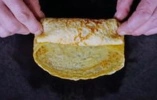 Crêpes en pannequets - Etape 7