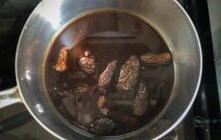 Ris de veau aux morilles - Etape 4