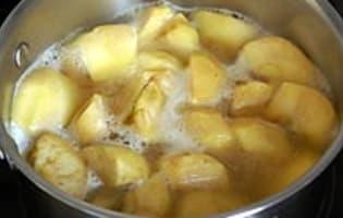 Gelée de pommes au cidre - Etape 3