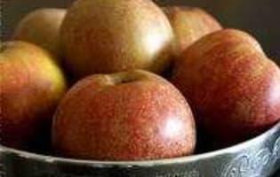 Gelée de pommes au cidre - Etape 1