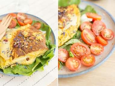Omelette à l'Ossau-Iraty