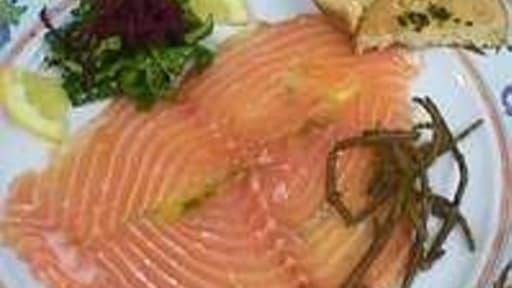 Carpaccio De Saumon Recette Du Carpaccio De Saumon Genievre Et