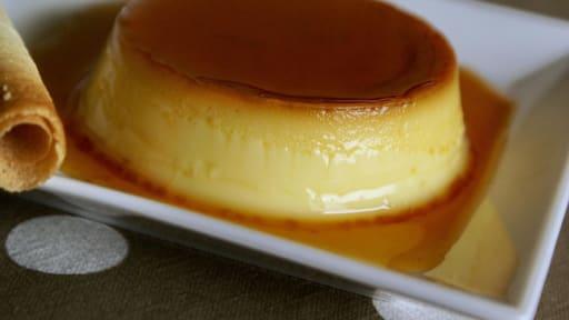 Creme Renversee Au Caramel Appelee Aussi œufs Au Lait Recette Par