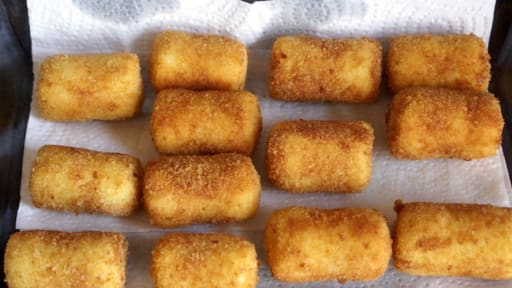 Pommes Croquettes Recette Des Pommes De Terre Croquettes Panees A