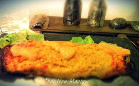 Roulé de pommes de terre à l'ail des ours, au fromage et ...à ce que l'on veut!