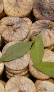 Exposition de figues sèches