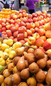 Etal de fruits frais