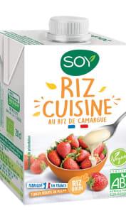 Crème de riz cuisine