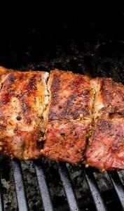 Viande au barbecue