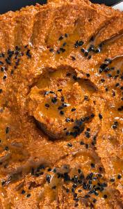 Assiette de muhammara